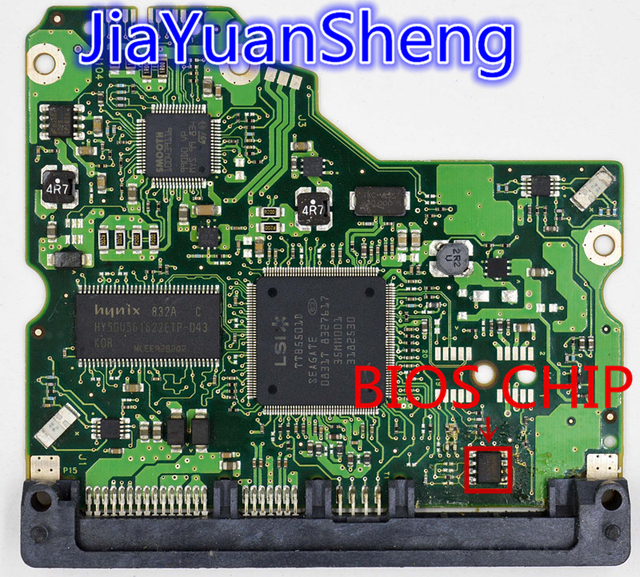 HDD PCB for JINREY / PCB 100466824 REV C , REV A , REV B ...