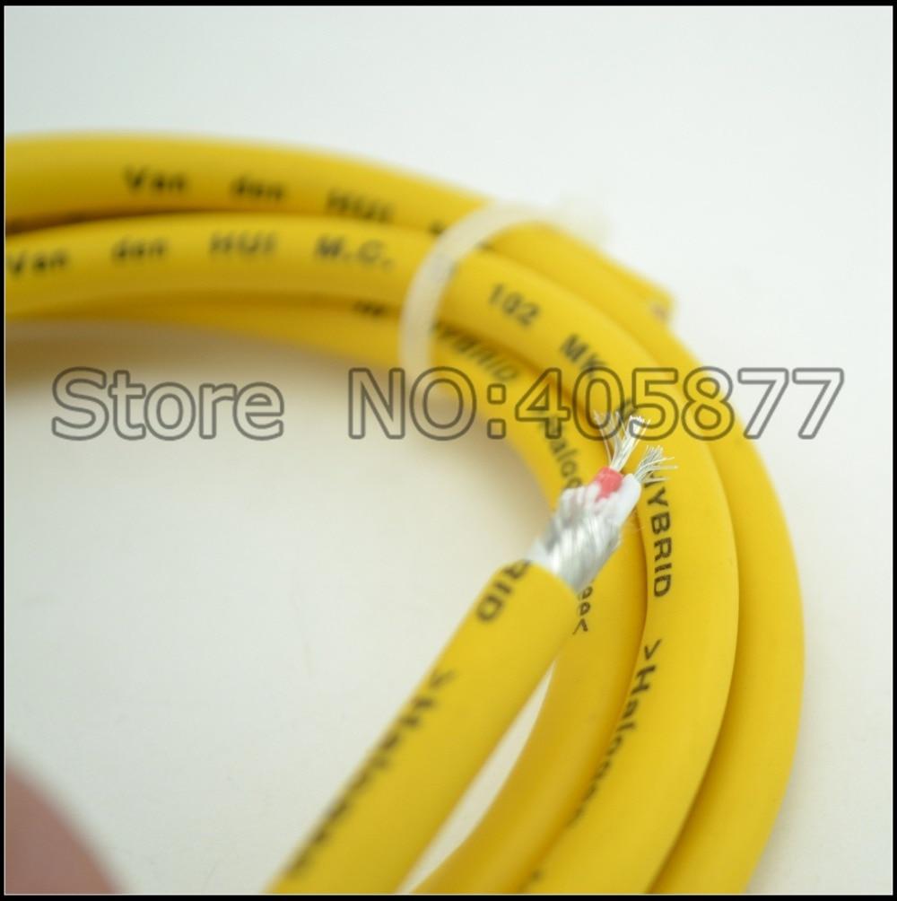 5M audio M.C D102 MK III Hybrid Halogen interconnect cable hifi bulk audio video cable