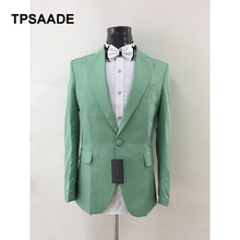 2017 New Men Suit Notch Lapel Terno Masculino Slim Fit Costume Homme Blazer Best Formal Business