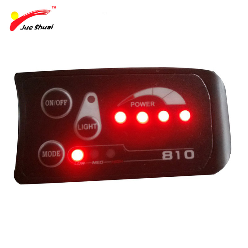 JS Electric Bicycle LED Display Automatic Cruise 6km/h 36V 250W Waterproof Bike <font><b>Computer</b></font> Speedometer Mount Bikes Accessory