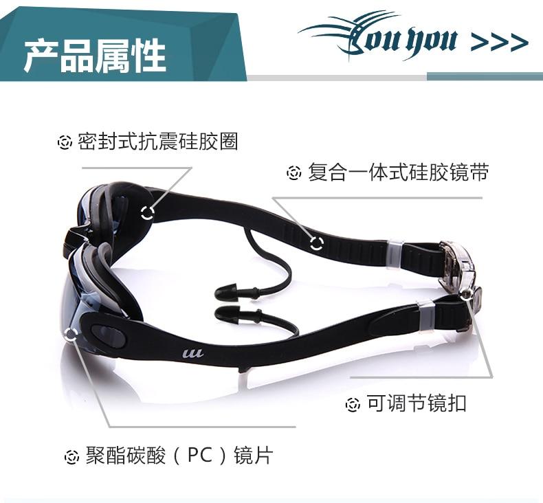 Água Sportswear Anti-fog Proteção UV Óculos Óculos