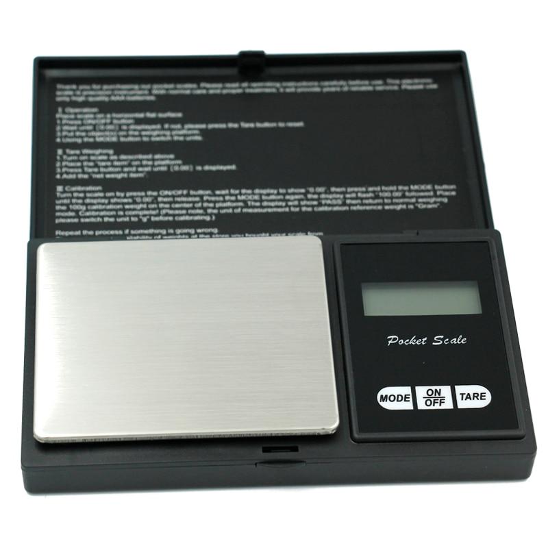 Di alta precisione 200g x 0.01g Digital kitchen Bilancia Gioielli In Oro del Peso di Equilibrio Gram LCD Pocket ponderazione Elettronico Bilancia s 20%