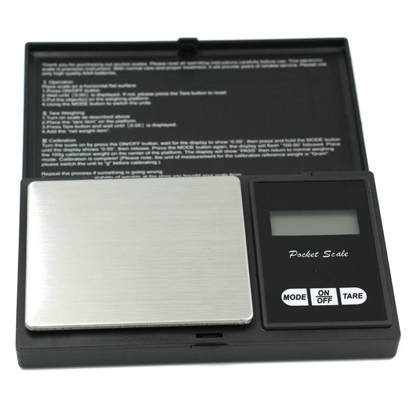 high precision 200g x 0.01g Digital kitchen Scale Jewelry Gold Balance Weight Gram LCD Pocket weighting Electronic Scales high quality precise jewelry scale pocket mini 500g digital electronic balance brand weighing scales kitchen scales bs