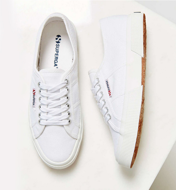 8006971a435b 2016 NEW FASHION SUPERGA 2750 COTU CLASSIC MEN SIZE WHITE Canvas shoes  Sneakers Flat shoes casual fashion free shipping