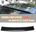 W212 L стиль  карбоновое волокно  заднее стекло на крышу  для Mercedes-Benz W212  E-CLASS  E200  E260  E300  E350  E400  седан 2012-2016