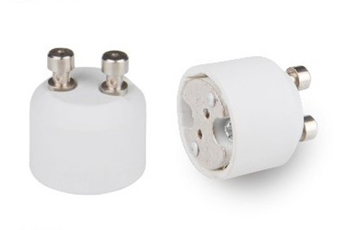 50 sztuk partia ceramiczne gniazdo lampy GU10 do MR16 adapter lampy CE i RoHS i UL podstawa lampy MR16 do GU10 adapter konwerter tanie i dobre opinie Oprawka converter IL-AD-GU10-MR16 milliongreat Guangdong China (Mainland)
