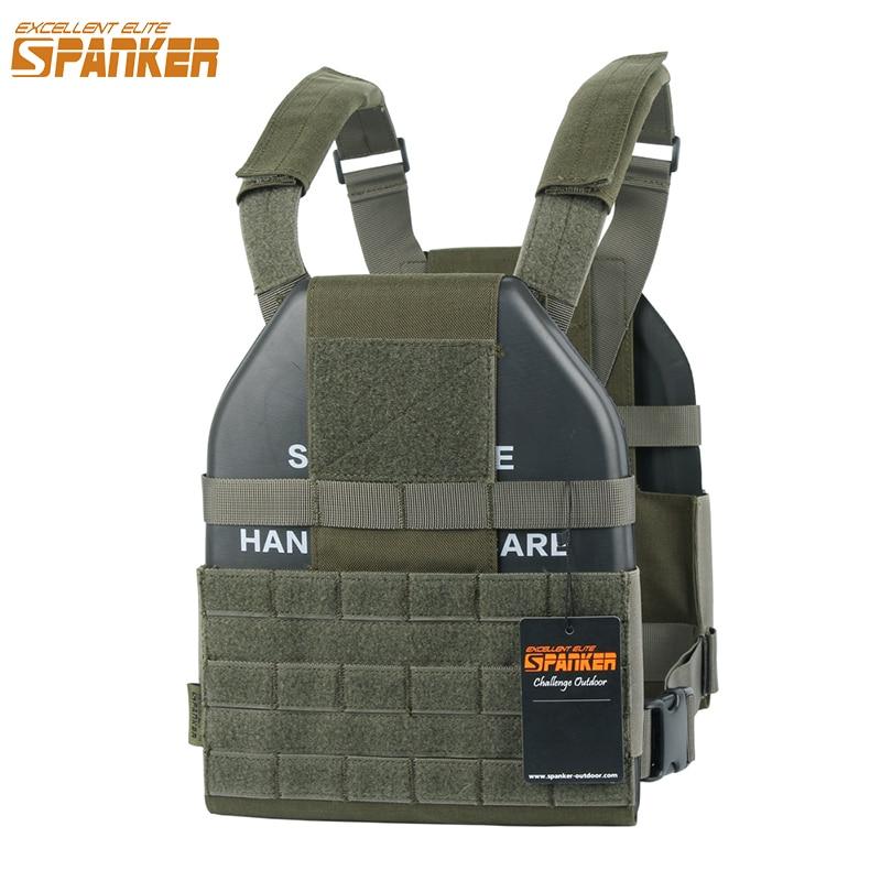 EXCELLENT ELITE SPANKER Outdoor Lightweight Vests Tactical Hunting Vest Camouflage Jungle Hunting CS Combat Vest Military