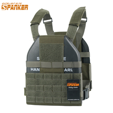 EXCELLENT ELITE SPANKER Tactical Vest Molle Ultra Light Hollow Plate Carrier Outdoor CS Hunting Military Nylon Vest Equipment excellent elite spanker outdoor tactical molle nylon hydration bag hunting camouflage waterproof bags military army combat bag