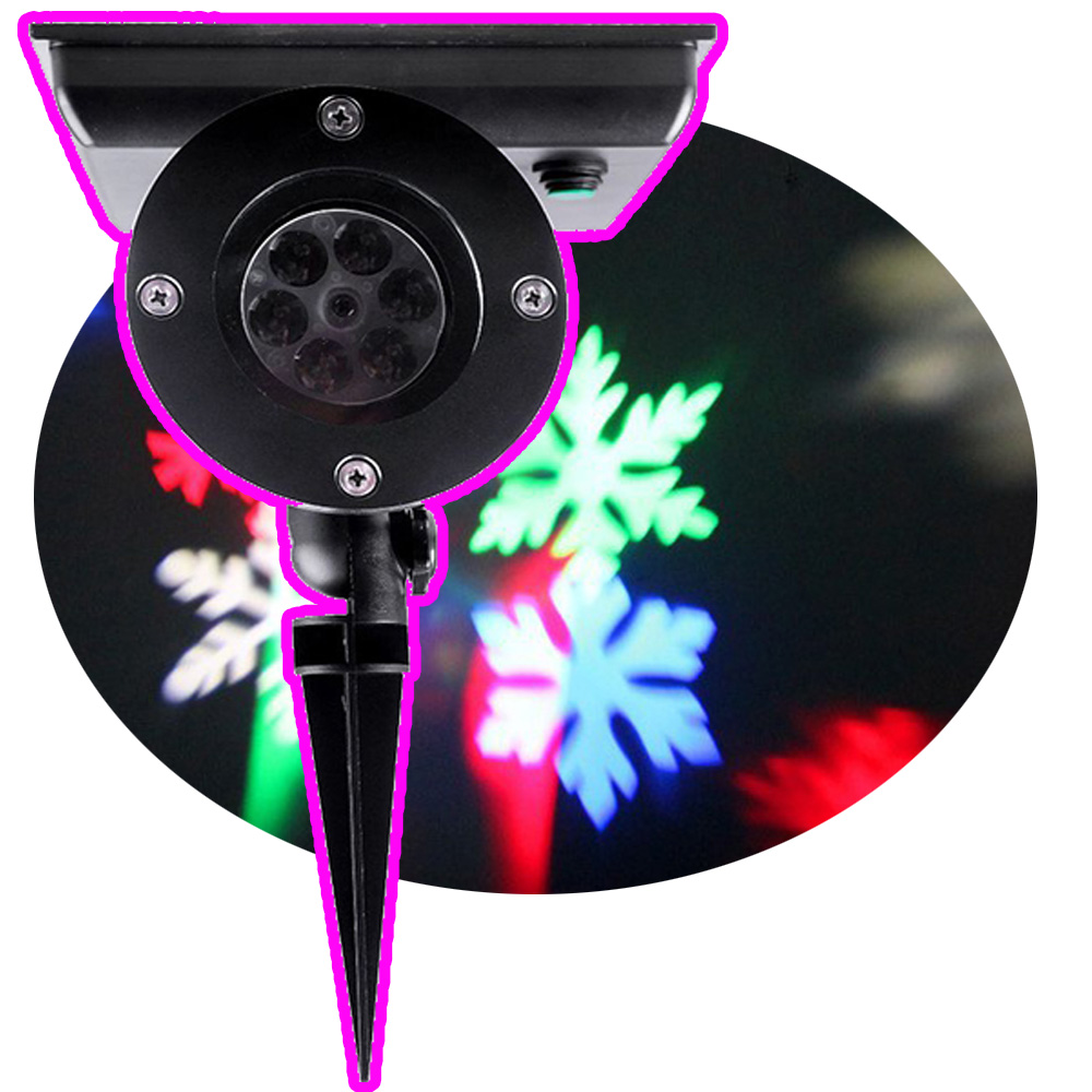 New Christmas LED Moving Laser Projector Light Landscape Garden Party Xmas Halloween Outdoor LED Projector Light christmas led stage laser light 12 slides film projector lamp outdoor projector landscape light xmas party garden holiday