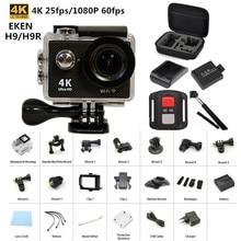 Original EKEN H9/H9R remoto cámara de Acción Ultra HD 4 K WiFi 1080 P/60fps 2.0 LCD 170D lente Casco Cam ir impermeable pro cámara