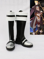 The Legend of Heroes VI Alan Richard Halloween Cosplay Boots Shoes Anime Party Cosplay Boots Adult Men Shoes