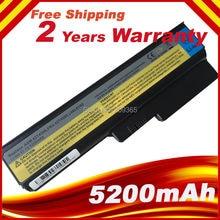 Batterie dordinateur portable pour Lenovo 3000 G430 G450 G530 G550 N500 Z360 B460 B550 V460 V450 G455 Y l08s6y02
