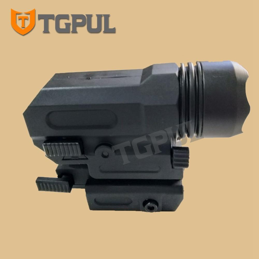 TGPUL Red Dot Laser Sight Tactical Airsoft Handgun Flashlight Combo LED Tactical Gun Torch for 20mm Rail Glock 17 19 18C 24 P226-3