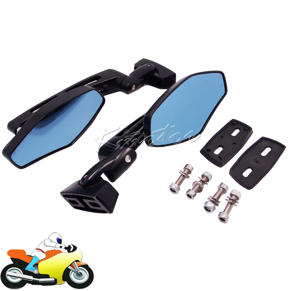 Universal CNC Motorcycle Scooter Bike Rearview Mirrors for Yamaha FZR YZF 600 600R R1 R6 R6S Suzuki GSXR 600 750 1000 Hayabusa