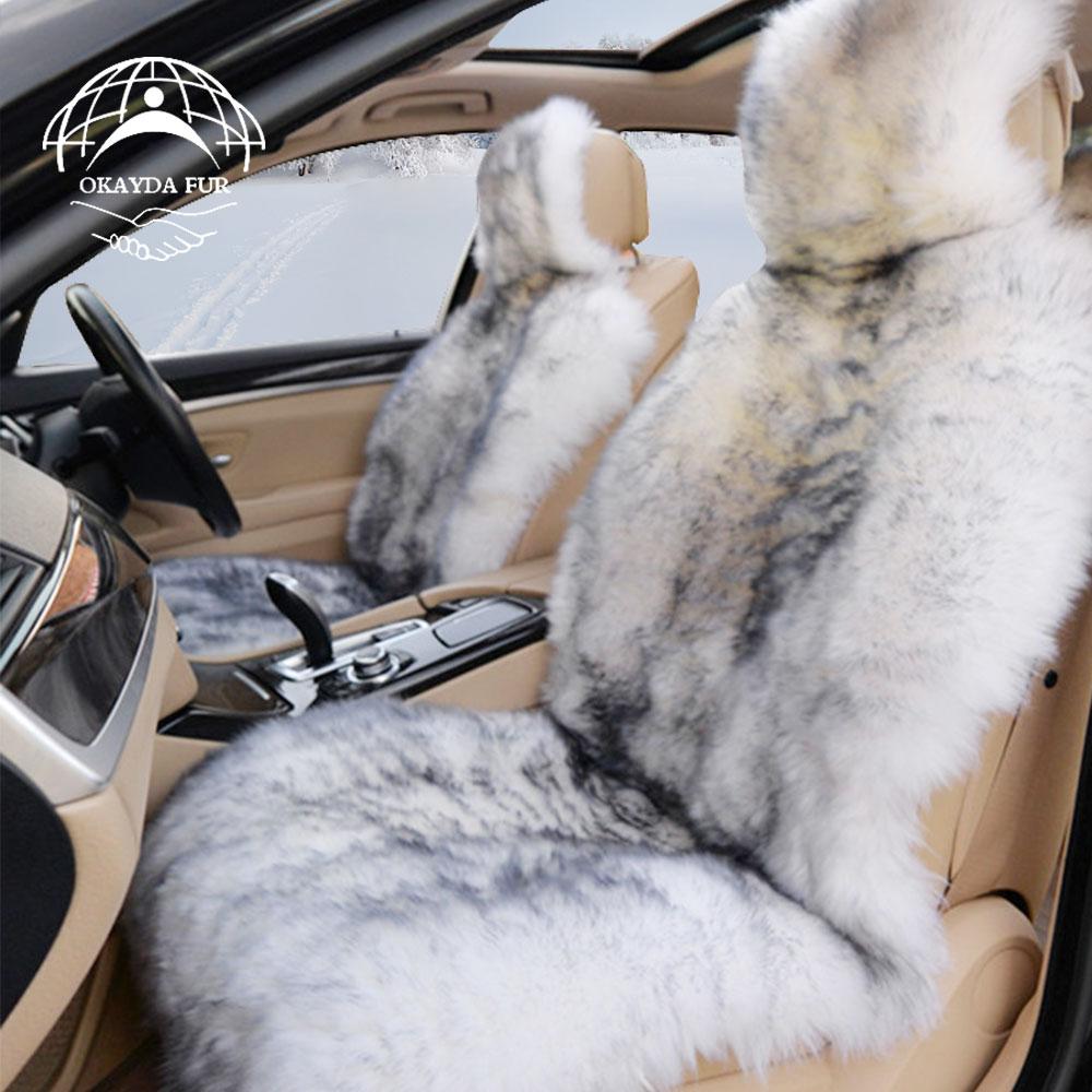 Okayda Luxury Universal Car Seat Covers 100 Australian Sheepskin