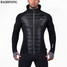 2017 New Gyms Men's Hoodies Aesthetics Revolution Fitness Hoodies sweatshirt belt Patchwork bodybuilding Man Hoodies Clothing