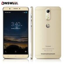 Gooweel M3 Smartphone 6,0 zoll ips-bildschirm MTK6580 quad-core-Handy telefon 8MP kamera GPS 1 GB RAM 8 GB ROM 3G handy