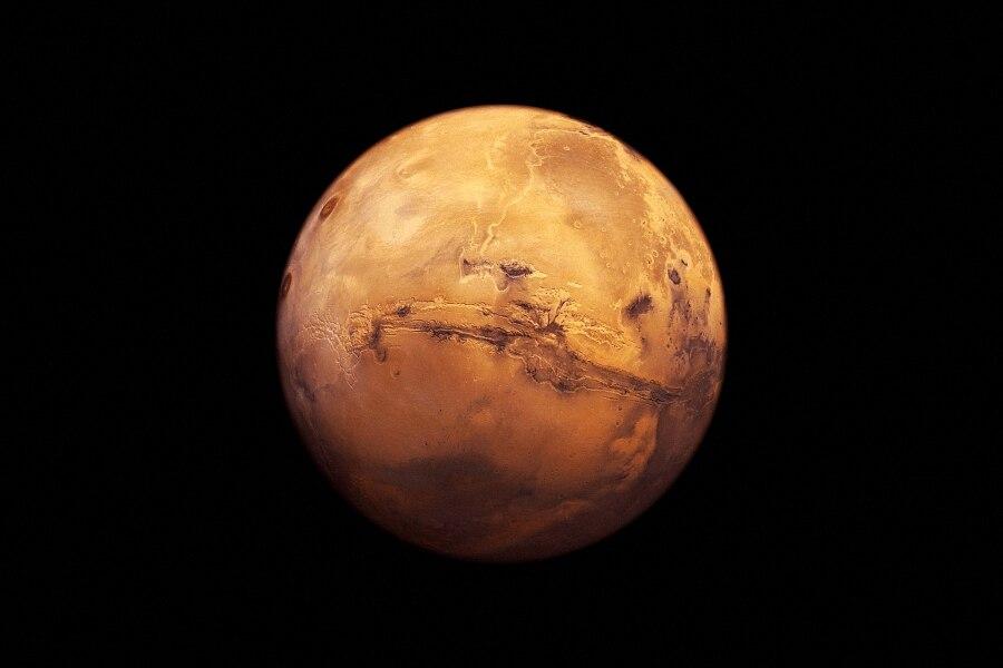 DIY marco espacio cósmico planeta Marte bola de oro cartel tela seda ...