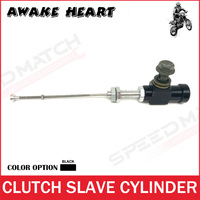 Black Alloy Motorcycle Performance Hydraulic Clutch Master Slave Cylinder Rod System Performance Efficient Transfer Pump