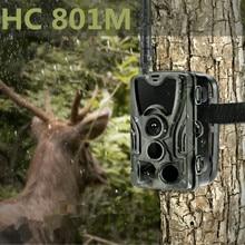 2G Trail камера HC801M охотничья камера s 16MP 1080P SMS дикая природа инфракрасная камера ночного видения s MMS фото ловушка камеры наблюдения