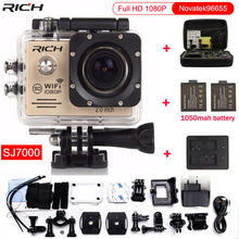 HOT Action Camera Full HD 1080P 30FPS WIFI 12MP Novatek96655 Wideangle Diving 30M Waterproof Extreme Sport Camera