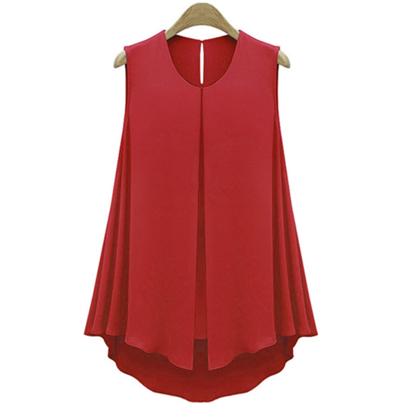 HTB1nCBjKFXXXXXYXVXXq6xXFXXX7 - Summer Shirts Plus Size Ruffles Tops Sleeveless O-neck