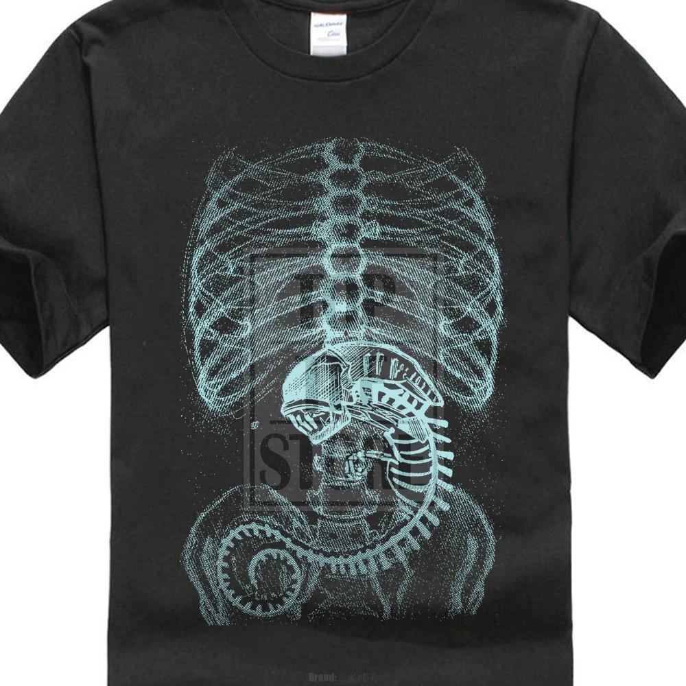 Levélnyomtatás póló Férfi idegen póló Ripley Prometheus - Férfi ruházat