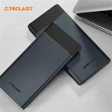 Original Teclast T100UC-N Dark Ultra-thin 10000mAh Dual USB Output Emergency Power Bank For iPhone Samsung Xiaomi Smart Phones