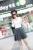 Las nuevas Mujeres Minifalda Otoño Delgado de La Manera Corta Plisada Faldas Negro Gris Rojo Lindo Estilo Preppy Falda Falda Ocasional del Tamaño S-XL