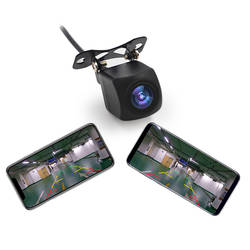 HD Автомобильная камера заднего вида автомобильной Wi Fi беспроводной Обратный 150 градусов ночное видение резервного копирования камера для