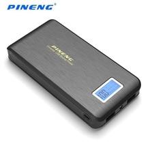 100% оригинал Pineng Mobile Power Bank PN-952 15000 мАч Dual USB LCD фонарик PowerBank внешние телефоны зарядное устройство