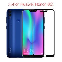 Закаленное стекло для Honor 8c Защитное стекло для huawei Honor 8c безопасная защита экрана Honer 8c BKK-L21 Honor8c 8 c c8 пленка