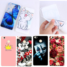 Xiaomi Redmi Note 4 Phone Case Silicone Cute Cover For Xiaomi Redmi 4X 3X 4A 4 Pro Note 4 Xiaomi Max 2 mi5 Soft Case Cover