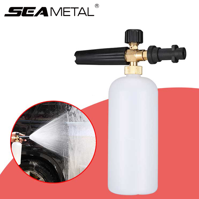 Back To Search Resultshome Car Wash Snow Foam Lance High Pressure Sprayer Car Cleaning Tools Soap Foamer Gun With Adjustable Nozzle Sprayer For Karcher K Providing Amenities For The People; Making Life Easier For The Population
