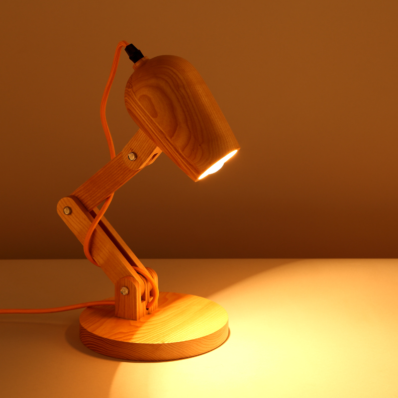 edison table lamp vintage home lighting. Loft Vintage Industrial Table Light Edison Desk Lamp Log Wood Fold  Unfold Cafe Bar Bedroom Home Decor Edison Table Lamp Vintage Home Lighting