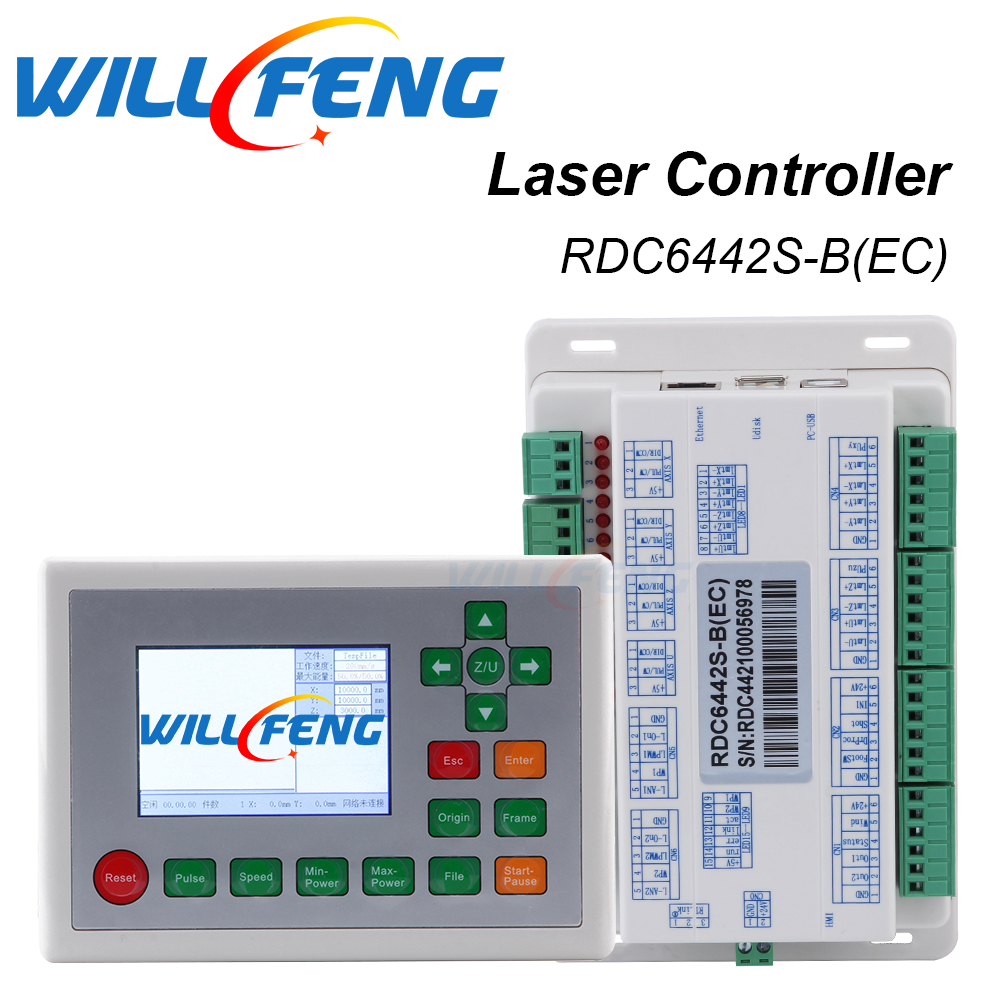 Will Feng Ruida RDC6442S RDC6442G Laser Controller System For Co2 Laser Engrave Machine .RD Mainboard