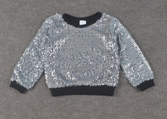 4fe59d53b4d Korean girls boys sweater high end sequined hoodies 1 5 years old-in ...