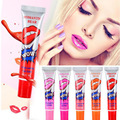 Fashion Beauty Romantic Bear Lip Gloss Matte Waterproof Liquid Lipstick Peel Mask Tint Kyli Long Lasting Makeup Lip Cosmetics
