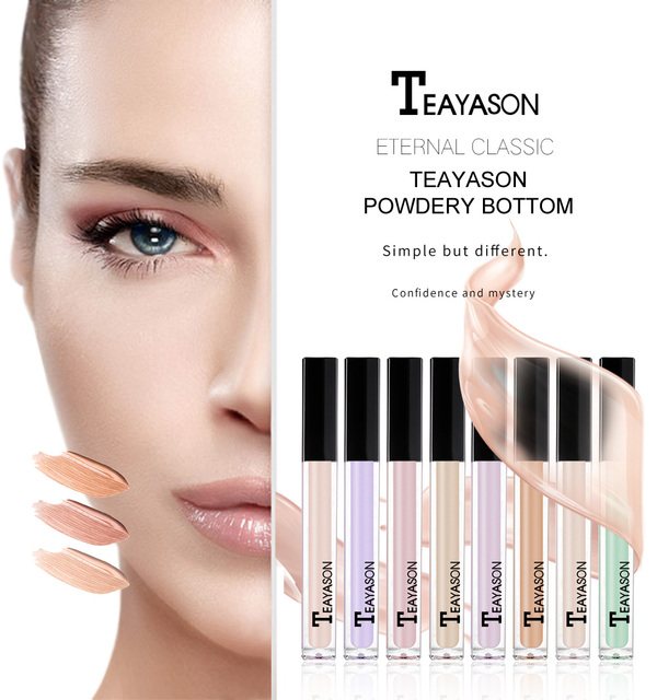 Teayason Face Makeup Base Concealer Eye Contour Corrector Cream Maquiagem Liquid Corrective Bronzer Primer Makeup Foundation 3