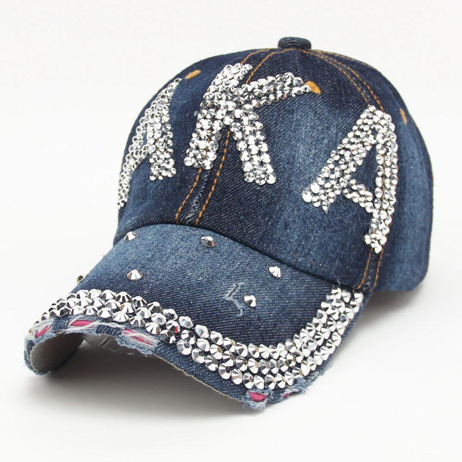 ec72607c3b1 Buy diamante cap and get free shipping on AliExpress.com