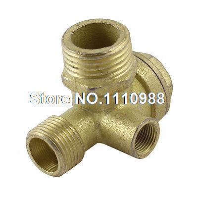 Air Compressor Replacement Parts >> Us 7 15 Air Compressor Replacement Parts 1 4pt 1 2pt Male Threaded Brass Check Valve In Screws From Home Improvement On Aliexpress Com Alibaba