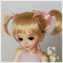 1/6 1/8 scale BJD wig hair for BJD/SD DIY doll accessories.Not included doll,clothes,shoes,and other accessories 16C1049