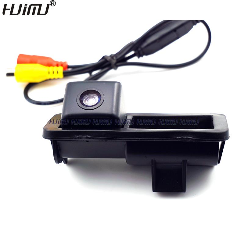 wired wireless car rear font b camera b font trunk handle switch for ford Mondeo Fiesta