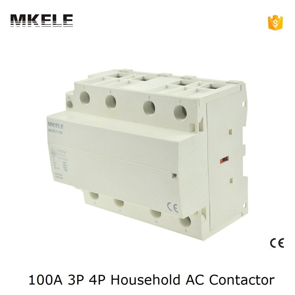 Замыкатель mkwct/100 ! 100 4no DIN/4