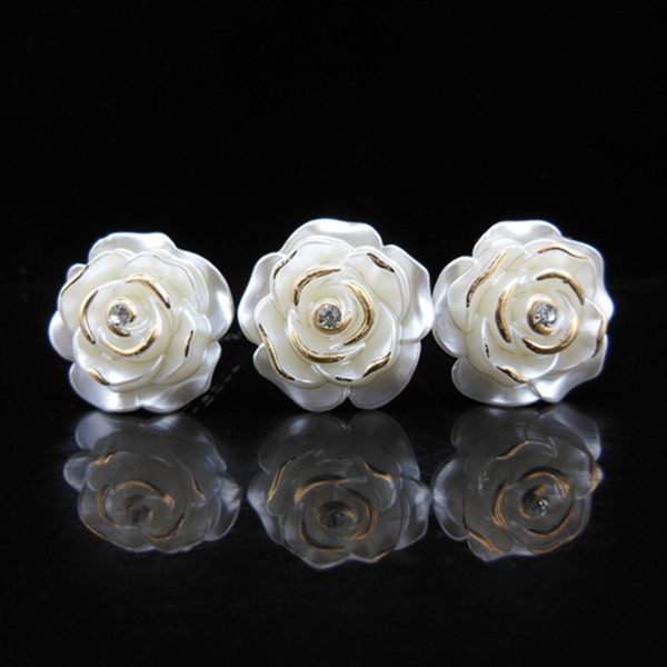 White Garden Rose Hair compare prices on white rose hair accessories- online shopping/buy