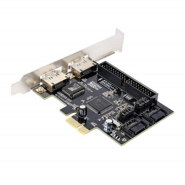 PCIe Raid Controller Expansion Card 2 x SATA Or 2 x eSATA 1 x IDE