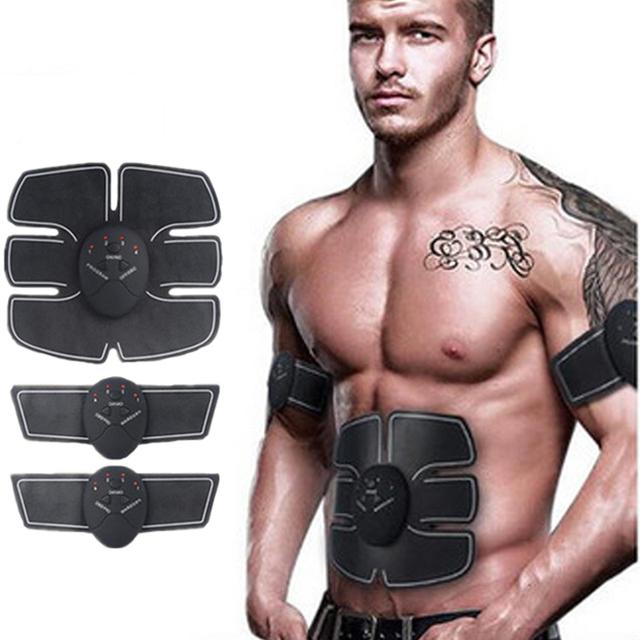 2018 Wireless Muscle Stimulator EMS Stimulation Body Slimming Beauty Machine Abdominal Muscle Exerciser Body Massager