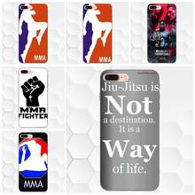 Couple Phone Soft Rubber Back Cover The Mma Logo For Samsung Galaxy A3 A5 A6 A6s A7 A8 A9 Star Plus 2016 2017 2018(China)