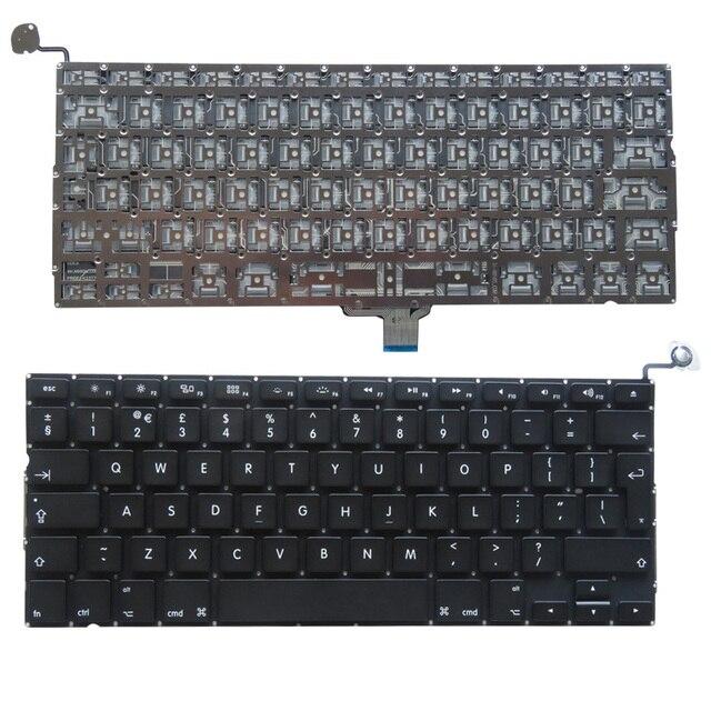 YALUZU новая английская клавиатура A1278 для macbook pro Unibody 13 A1278 Клавиатура