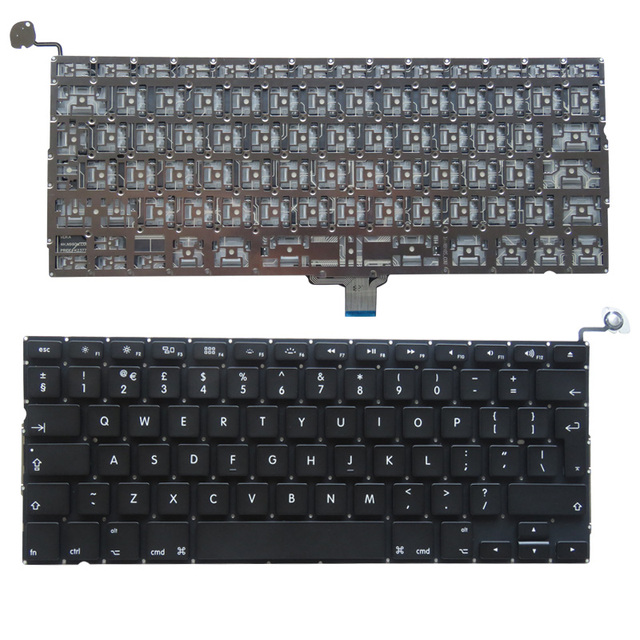YALUZU yeni İngiltere klavye A1278 macbook pro Unibody 13 A1278 klavye
